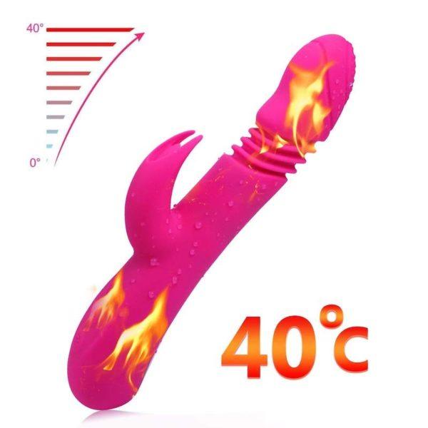 Dido Rabbit Heating Thrusting Vibrator